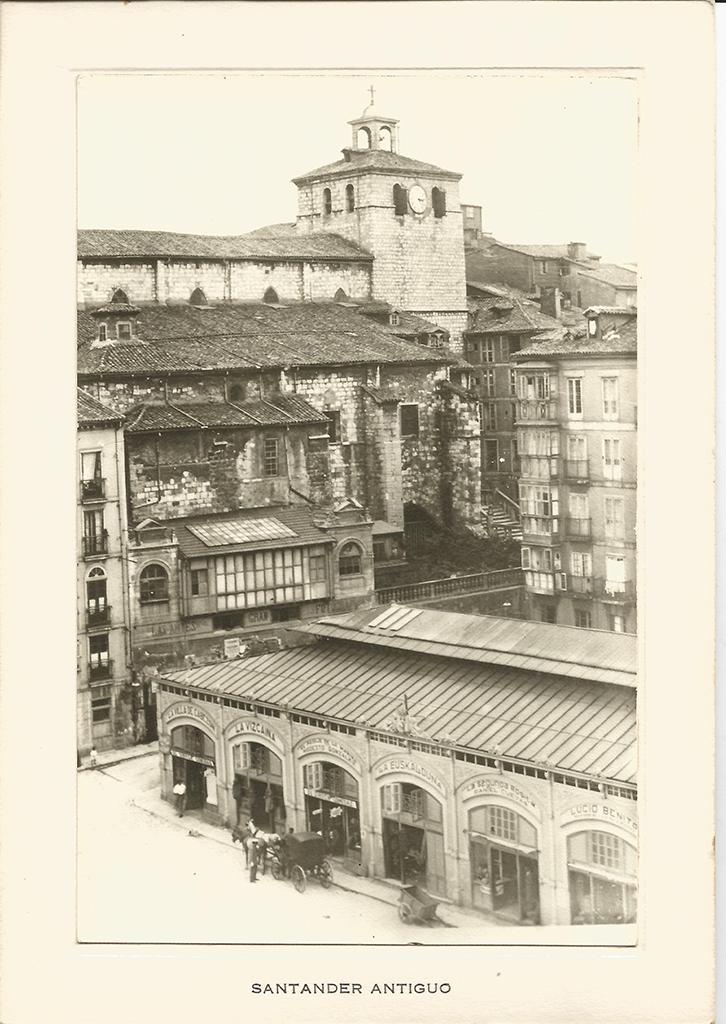 126 - La Catedral y casas de Somorrostro