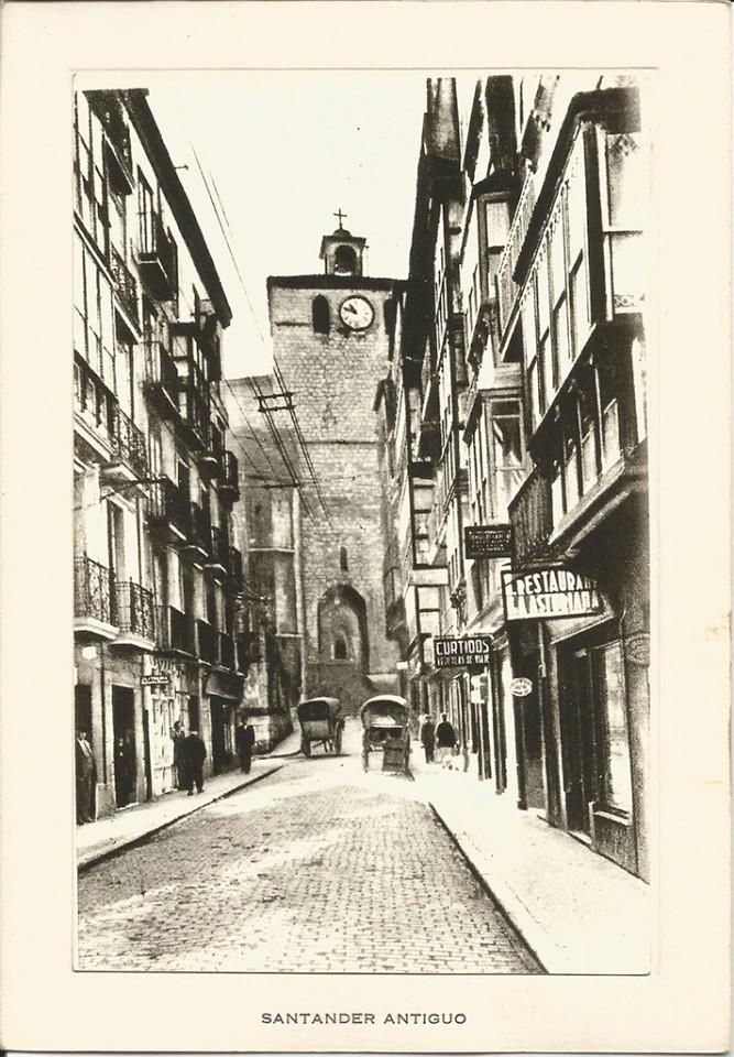 128 - Calle del Puente. Al fondo la Catedral