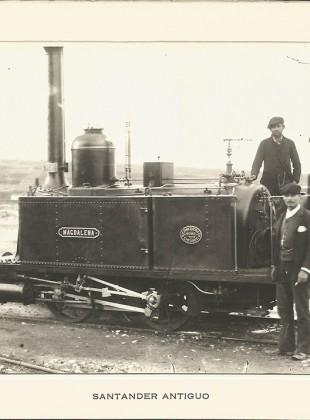 """40B - Máquina """"Magdalena"""" del tren de Gandarillas"""