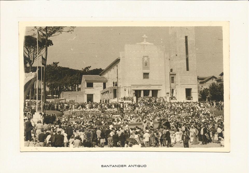 El Sardinero. Iglesia de 63 - San Roque. Inauguración