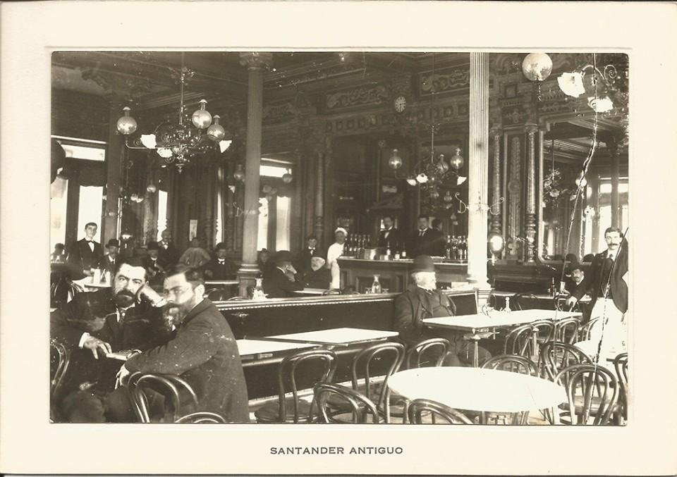 75 - Interior café Suizo. Paseo de Pereda
