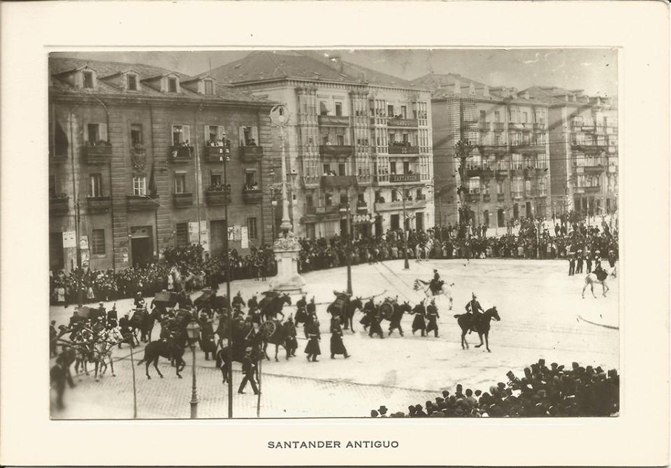 87 Avenida de Alfonso XIII. Actos centenario del 2 de Mayo 1808