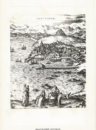 98 Vista General. Grabado de Jorge Braun y Frans Hogenberg